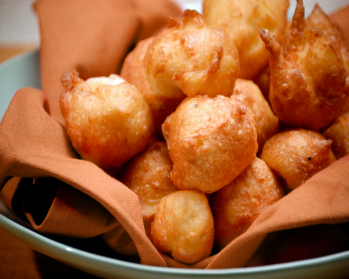 Sweet Potato Poppers