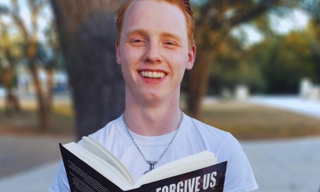 E.T. Gunnaarsson 's Book Forgive Us is a Winner